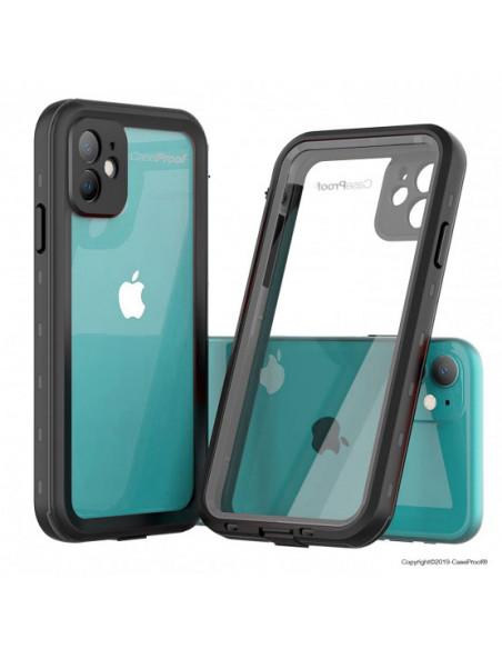 2 iPhone 11 - Funda resistente al agua y a los golpes - Serie WATERPROOF