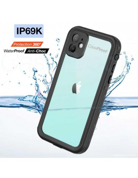 4 iPhone 11 - Funda resistente al agua y a los golpes - Serie WATERPROOF