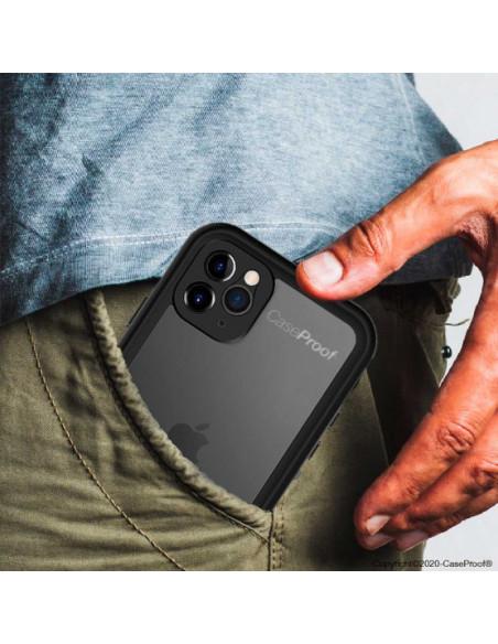 6 iPhone 11 - Funda resistente al agua y a los golpes - Serie WATERPROOF