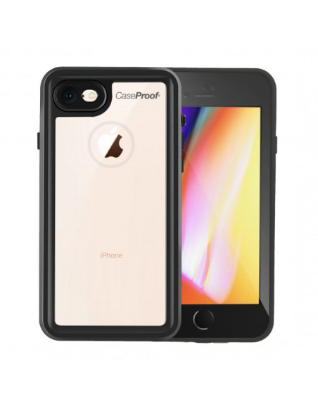1 Funda impermeable y a prueba de golpes para iPhone 8/7/SE(2020) - Serie WATERPROOF