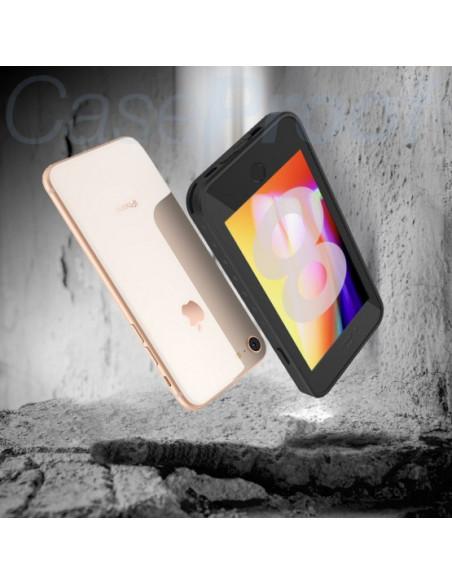 3 Funda impermeable y a prueba de golpes para iPhone 8/7/SE(2020) - Serie WATERPROOF