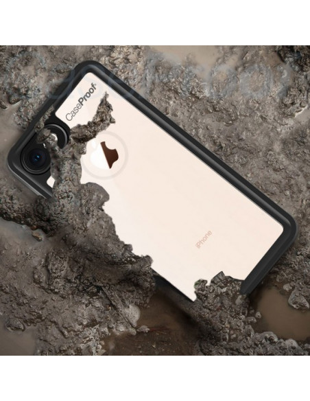 5 Funda impermeable y a prueba de golpes para iPhone 8/7/SE(2020) - Serie WATERPROOF
