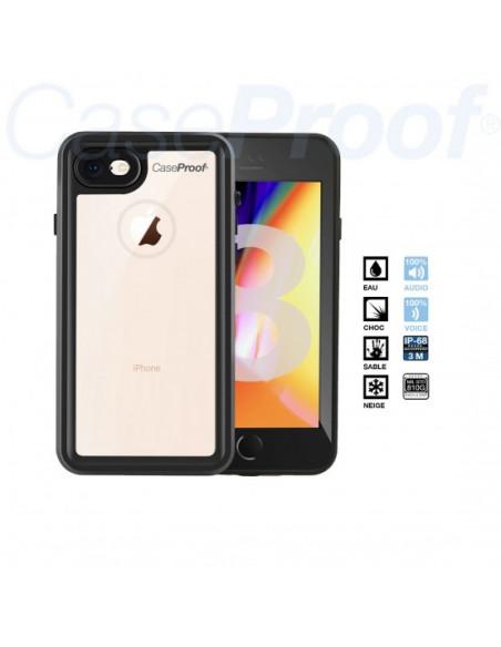 6 Funda impermeable y a prueba de golpes para iPhone 8/7/SE(2020) - Serie WATERPROOF