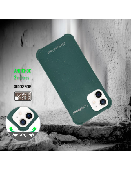 2 iPhone11 - Funda Biodegradable Caqui Serie BIO