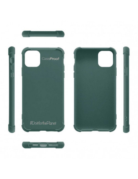 5 iPhone11 - Funda Biodegradable Caqui Serie BIO