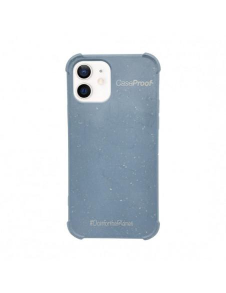 1 iPhone 11 - Funda Biodegradable Azul Serie BIO