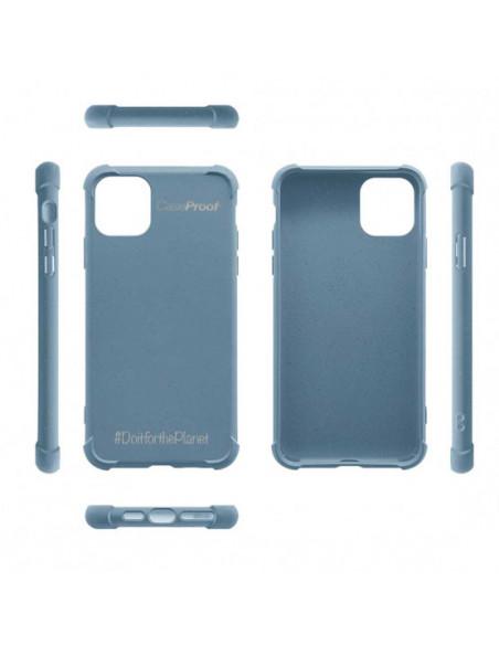5 iPhone 11 - Funda Biodegradable Azul Serie BIO