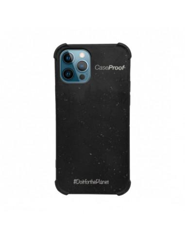 1 iPhone 12-12 Pro - Funda Biodegradable Negra Serie BIO