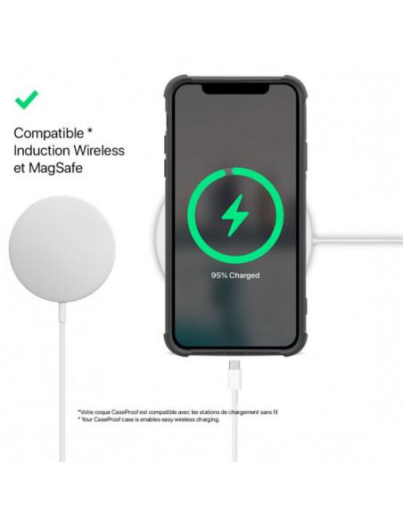 4 iPhone 12-12 Pro - Funda Biodegradable Negra Serie BIO