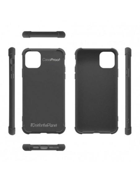5 iPhone 12-12 Pro - Funda Biodegradable Negra Serie BIO
