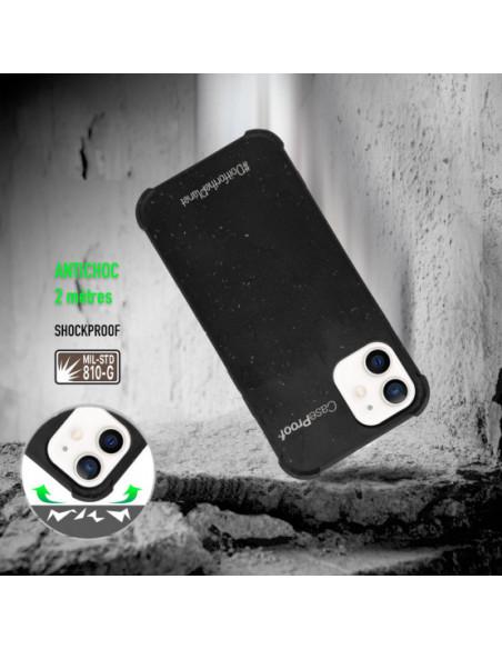 2 iPhone 11 - Funda Biodegradable Negra Serie BIO