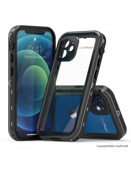 2 iPhone 12 - Funda resistente al agua y a los golpes