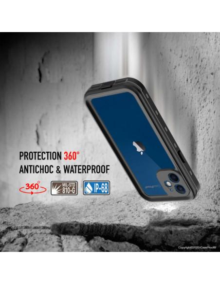 4 iPhone 12 - Funda resistente al agua y a los golpes