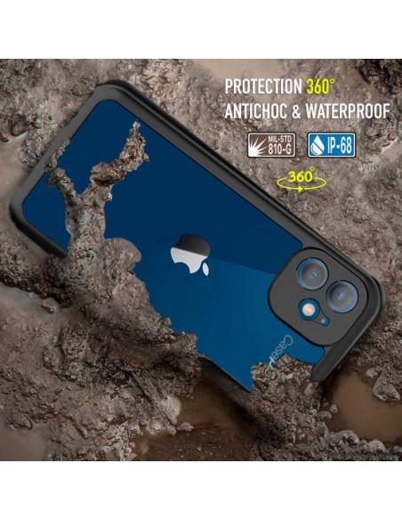6 iPhone 12 - Funda resistente al agua y a los golpes