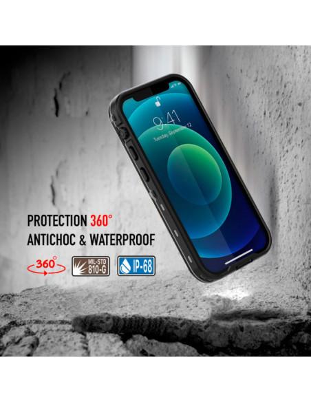 3 iPhone 12 Mini - Funda resistente al agua y a los golpes