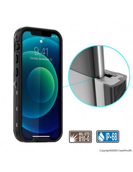 7 iPhone 12 Mini - Funda resistente al agua y a los golpes