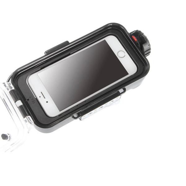 5 Funda de buceo compatible Para iPhone X/6/7/8 Bluetooth resistente al agua 60 metros