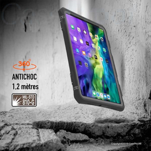 4 iPad Pro 11-2020- Funda resistente al agua y a los golpes