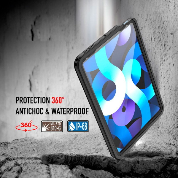 4 Funda impermeable y resistente a los golpes para el iPad Air 4