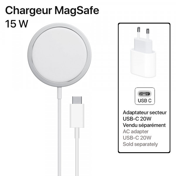 6 Cargador de inducción MagSafe