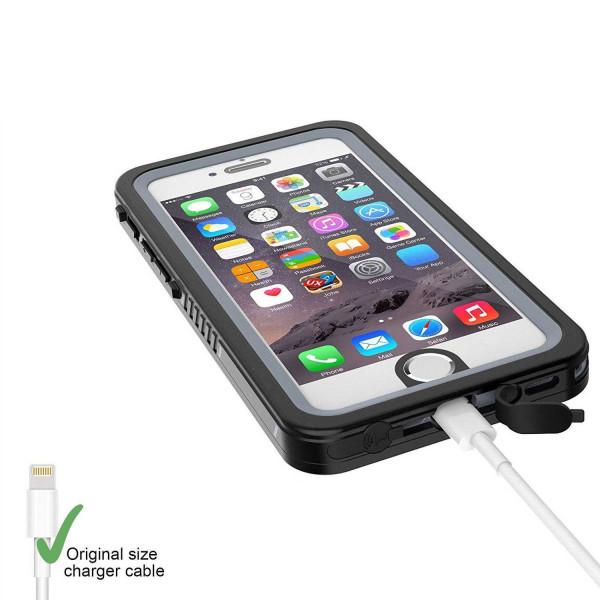 2 iPhone 6/6s - Funda resistente al agua y a los golpes