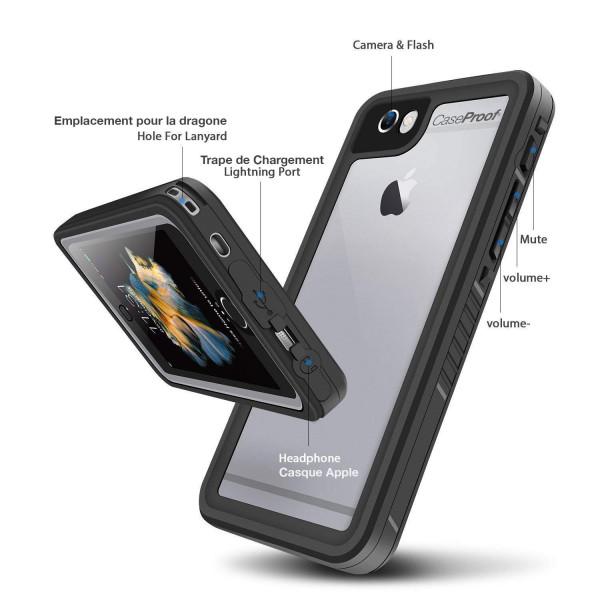 5 iPhone 6/6s - Funda resistente al agua y a los golpes