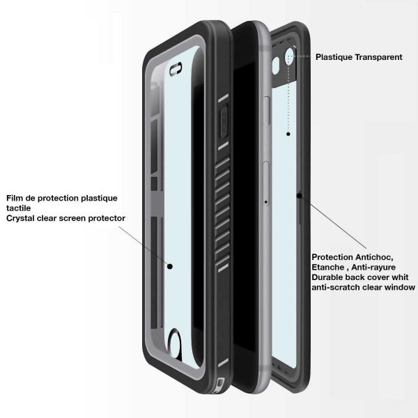 11 iPhone 6/6s - Funda resistente al agua y a los golpes