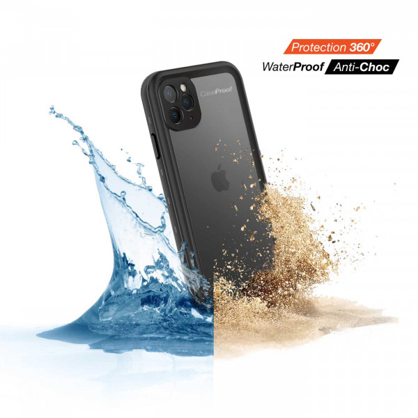 2 iPhone 11 Pro Max - Funda resistente al agua y a los golpes