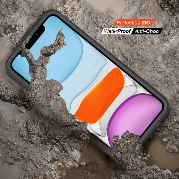 3 iPhone 11 Pro Max - Funda resistente al agua y a los golpes