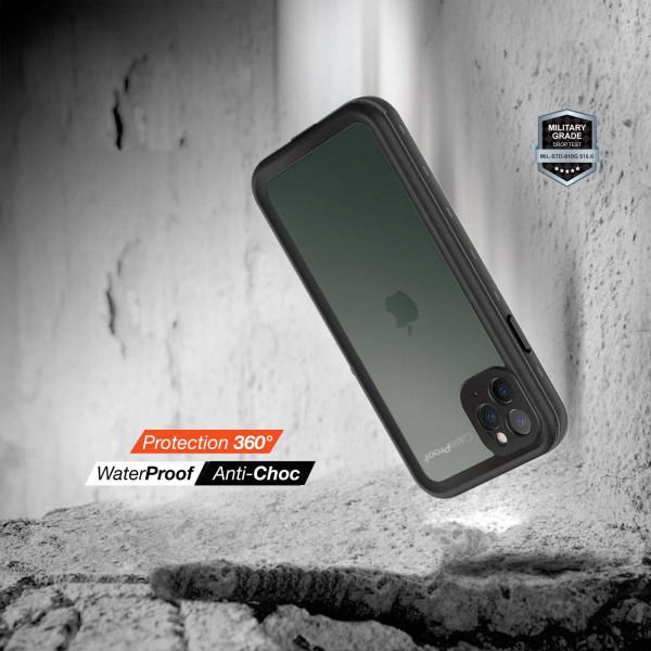 5 iPhone 11 Pro Max - Funda resistente al agua y a los golpes