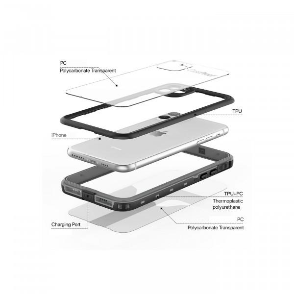 6 iPhone 11 Pro Max - Funda resistente al agua y a los golpes