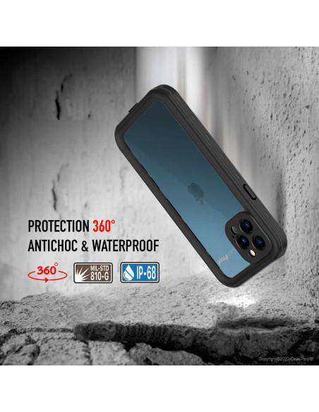 4 iPhone 12 Pro - Funda resistente al agua y a los golpes
