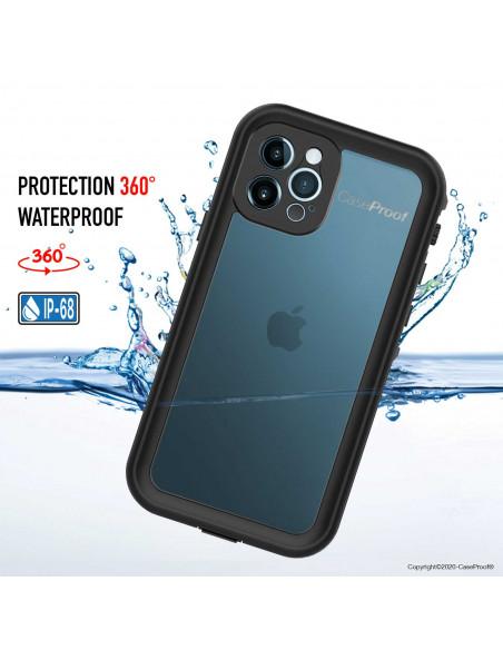5 iPhone 12 Pro - Funda resistente al agua y a los golpes