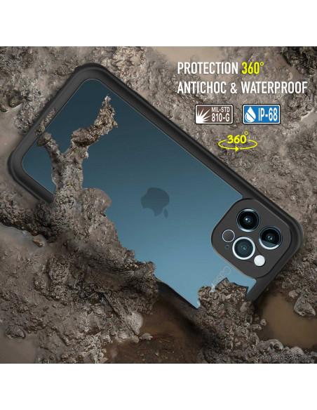 6 iPhone 12 Pro - Funda resistente al agua y a los golpes