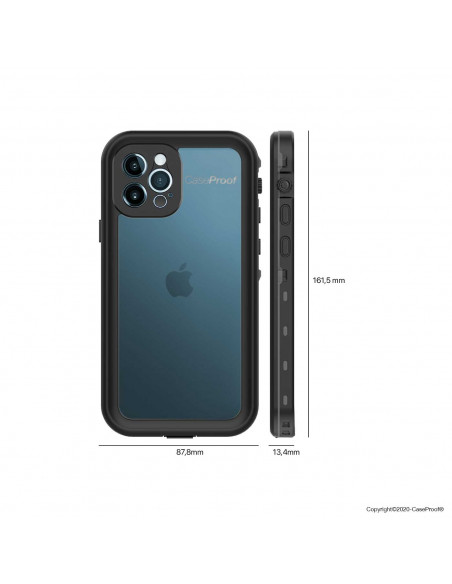 7 iPhone 12 Pro - Funda resistente al agua y a los golpes