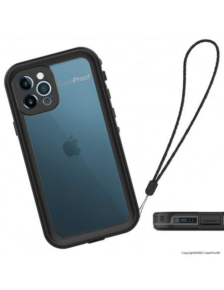 8 iPhone 12 Pro - Funda resistente al agua y a los golpes