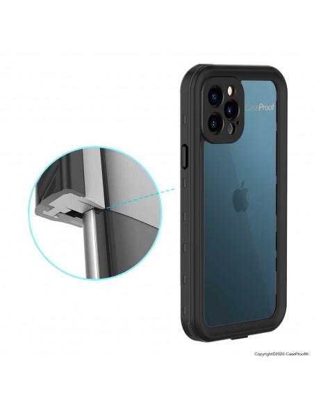 9 iPhone 12 Pro - Funda resistente al agua y a los golpes