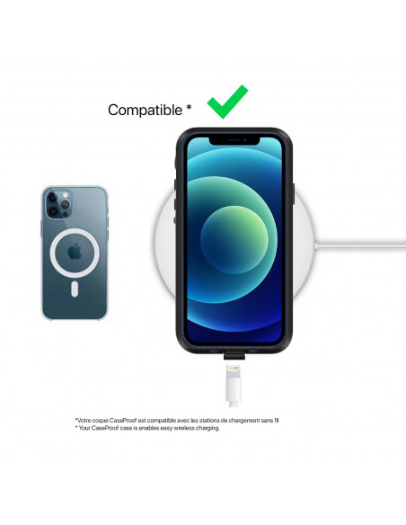 10 iPhone 12 Pro - Funda resistente al agua y a los golpes