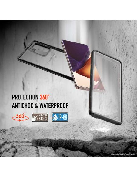 4 Samsung Galaxy Note 20 Ultra - Funda resistente al agua y a los golpes