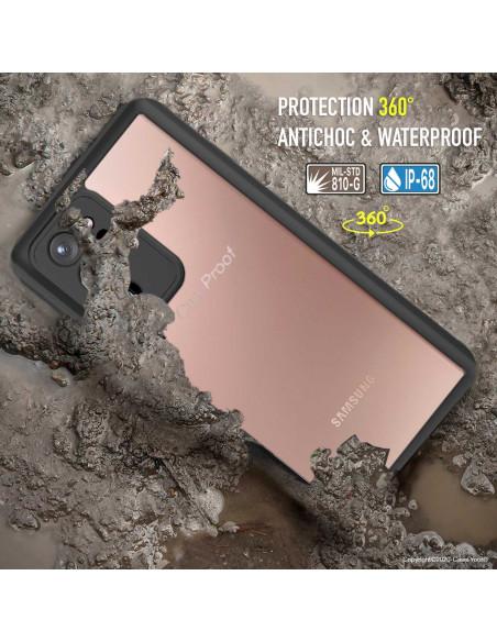 7 Samsung Galaxy Note 20 Ultra - Funda resistente al agua y a los golpes