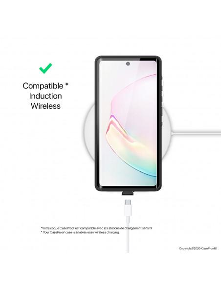 8 Samsung Galaxy Note 20 Ultra - Funda resistente al agua y a los golpes