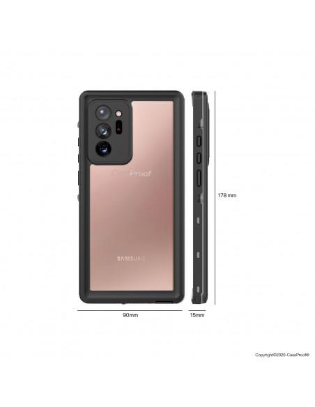 10 Samsung Galaxy Note 20 Ultra - Funda resistente al agua y a los golpes