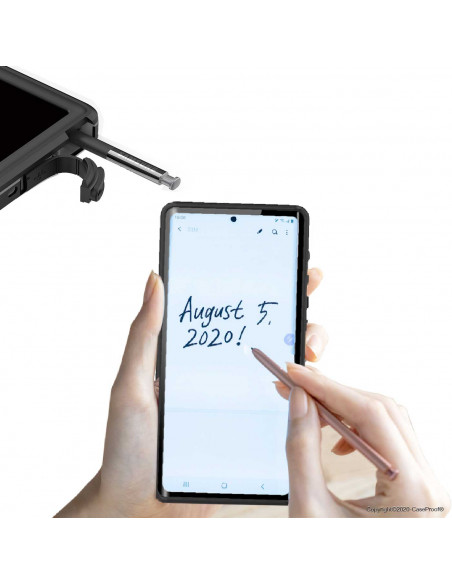 12 Samsung Galaxy Note 20 Ultra - Funda resistente al agua y a los golpes