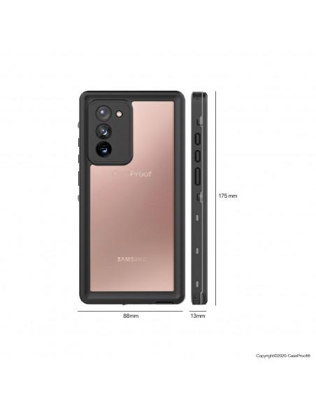 4 Samsung Galaxy Note 20 - Funda resistente al agua y a los golpes