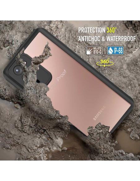 10 Samsung Galaxy Note 20 - Funda resistente al agua y a los golpes
