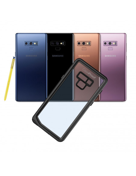 11 Samsung Galaxy Note 9 - Funda resistente al agua y a los golpes