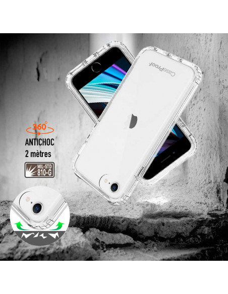 4 iPhone 7-8-SE 2020 - 360 grado Shockproof