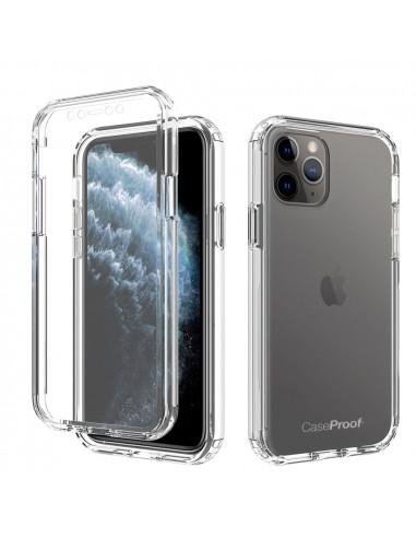 1 iPhone 11 PRO - 360 grado Shockproof - Serie Clear SHOCK