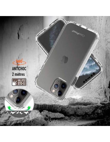 3 iPhone 11 PRO - 360 grado Shockproof - Serie Clear SHOCK