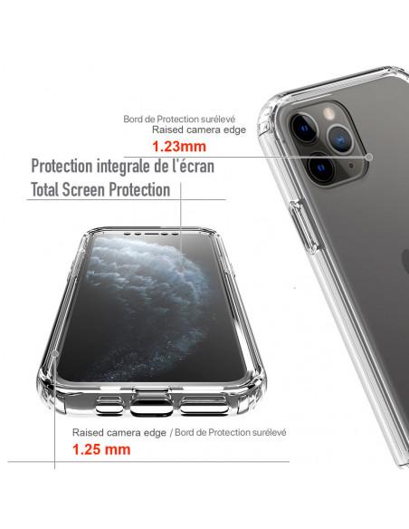 4 iPhone 11 PRO - 360 grado Shockproof - Serie Clear SHOCK